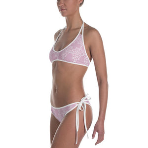 211INC Womens Bubbly Lux Pink Bikini Swimsuit