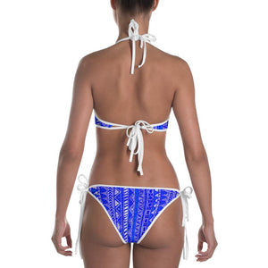 211INC Womens Royal Tribal Bikini Swimsuit - 211 INC