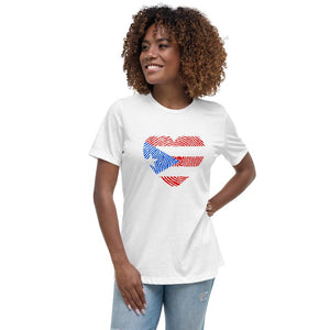 211INC Women's Heart of PR T-Shirt - 211 INC