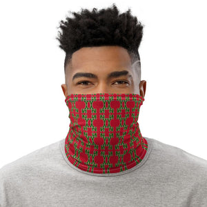 Letter Couture Neck Gaiter - 211 INC