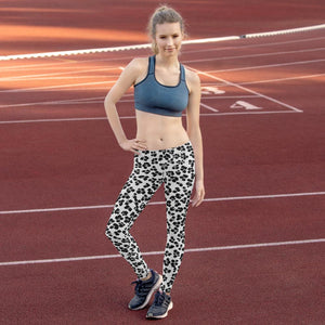 211INC Womens Snow Leopard Leggings - 211 INC