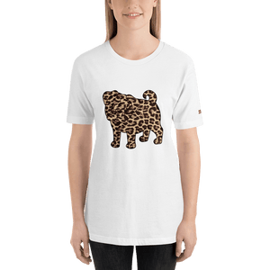 211INC Womens White Pug S/S T-Shirt - 211 INC