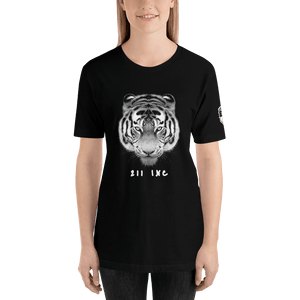 211INC Womens Black Tigers Head S/S T-Shirt - 211 INC