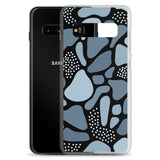 211INC Azure Pebble Samsung Case