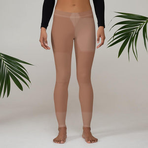 211INC Womens Beige Hexo Leggings - 211 INC