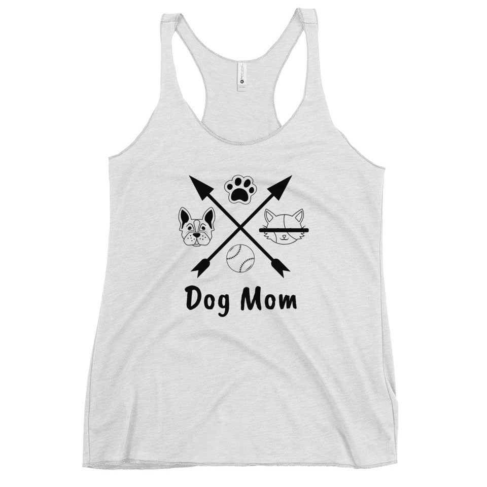211INC Women's Dog Mom Racerback Tank