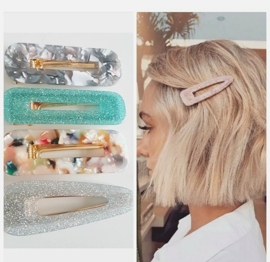 Large statement hair clip