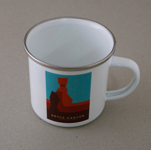 Bryce National Park Enamel Mug