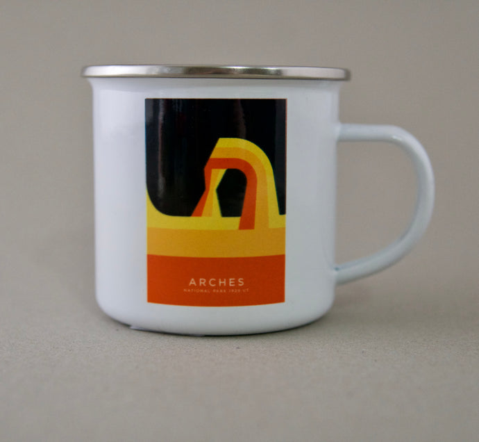 Arches National Park Enamel Mug