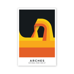 Arches 11.5 x 17.25 Poster