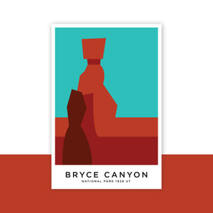 Bryce Canyon 8 x 12 Poster