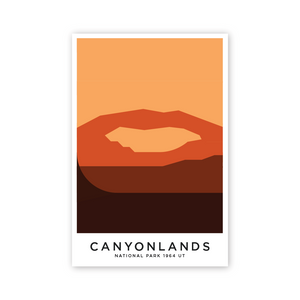 Canyonland 16 x 24 Poster
