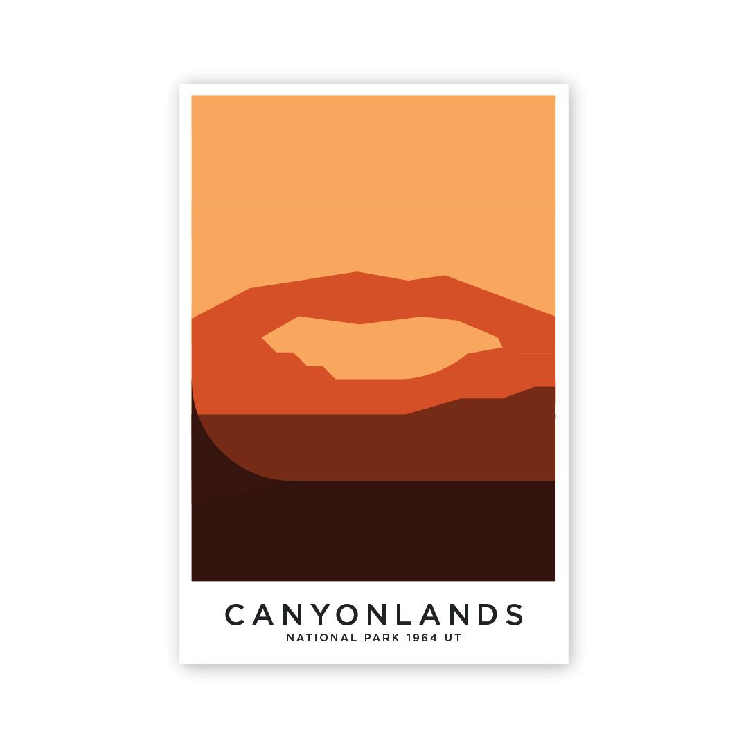 Canyonland 8 x 12 Poster