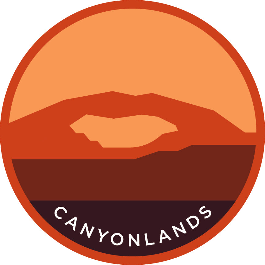 Canyonland Sticker