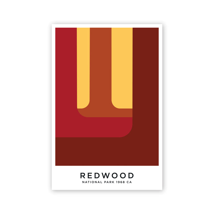Redwood Postcard