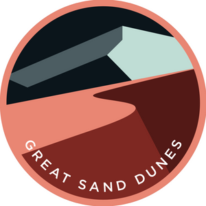 Great Sand Dunes Sticker