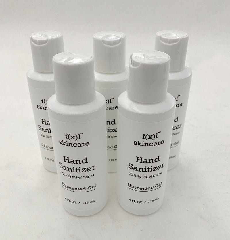 Hand Sanitizer Gel 4 oz Tube Packs 70% Alcohol - Made in USA - FDA Registered