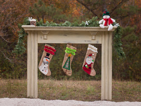 Christmas Outdoor Mantle - 60x80