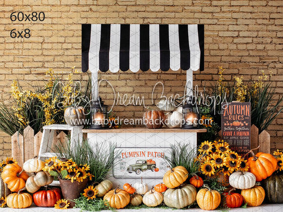 1856 Pumpkin Patch Stand