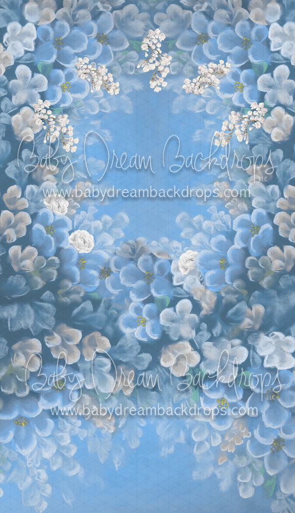 Divine Blooming Blue Sweep
