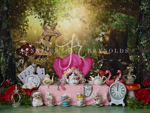Alice's Magical Garden