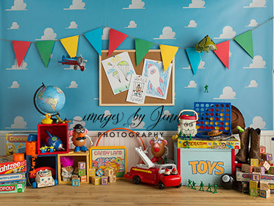 Andy Room Baby Dream Backdrops