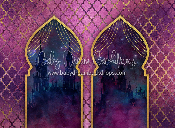 Arabian Night Palace - 60Hx80W - CC