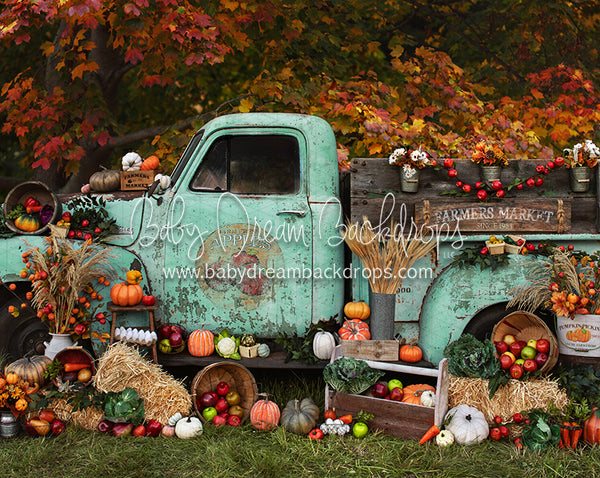 RTS 8x10 Autumn Acres Farmers Market