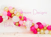 Balloon Garland Pink Gold