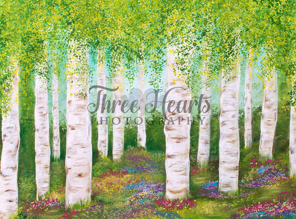 Birch in Bloom 6x8 DW (Premium)