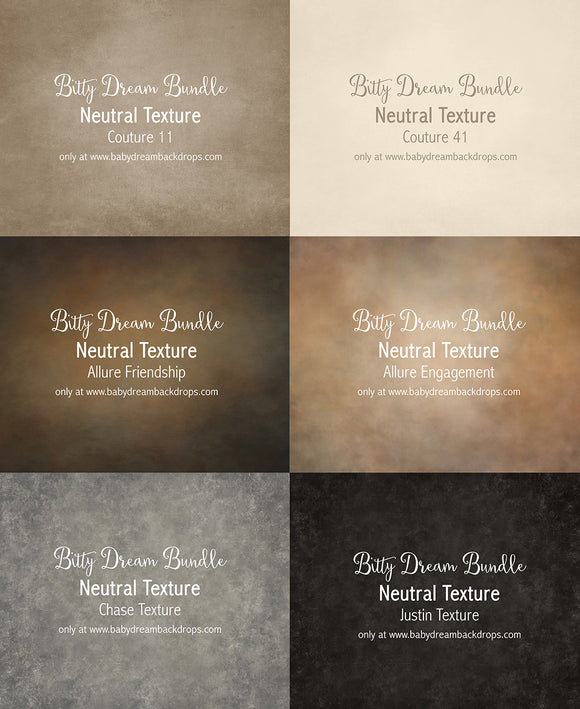 Bitty Dream Bundle - Neutral Texture
