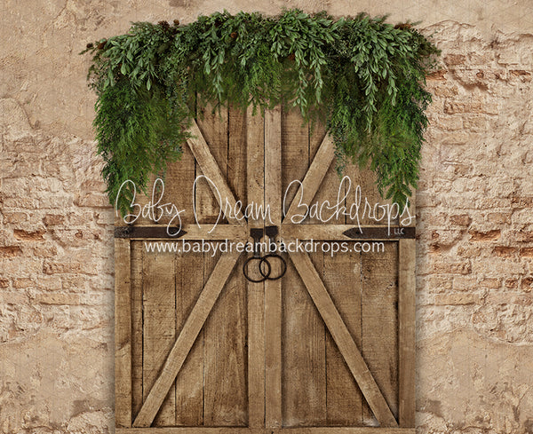 Boho Holiday Door