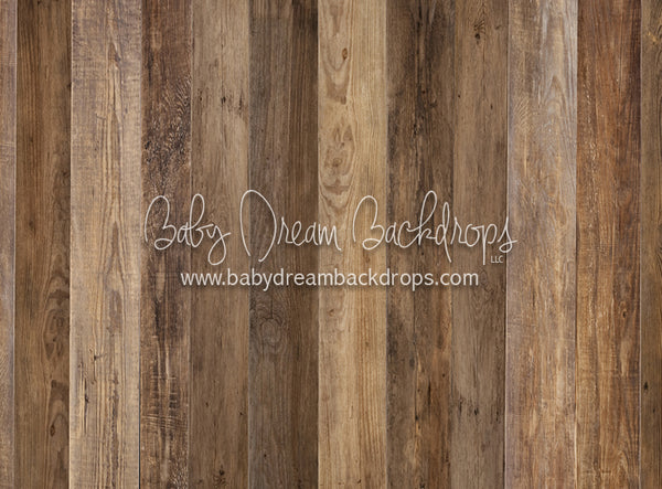 Brimfield Brown Planks - 6x8 - CC