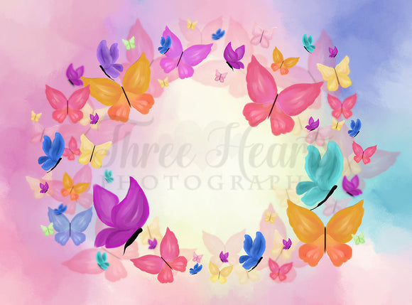 Butterfly Beauty 60hx80w DW