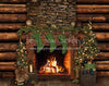 Cabin Traditions Fireplace - 8x10 - JA