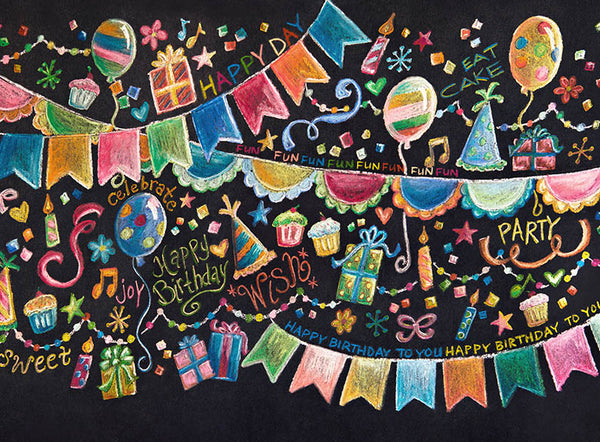 Chalk Party - 60x80 Long