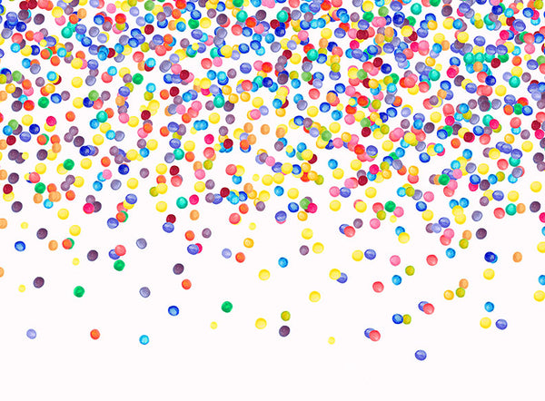 Confetti Color Wheel - 60x80 Horizontal