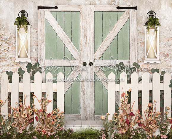 Country Cottage in Spring