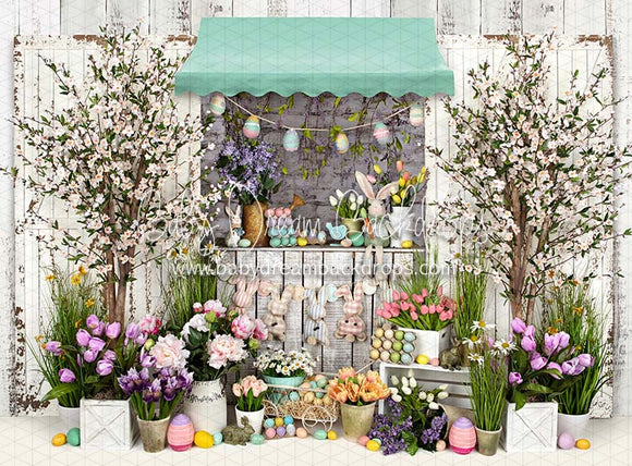 Country Easter Stand