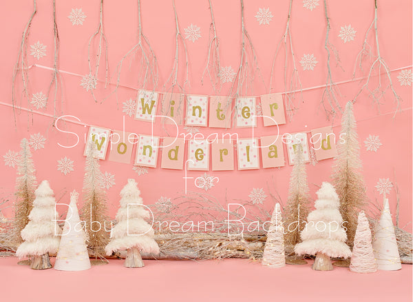 Dreamy Winter Wonderland Banner