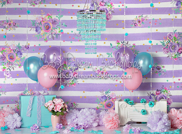 Enchanting Lavender Balloons - 60Hx80W - BS