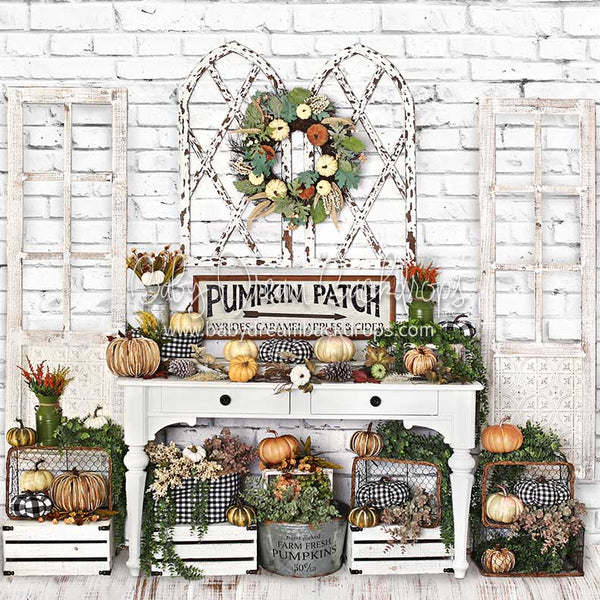 Farmhouse Fall - 8x8 - BD