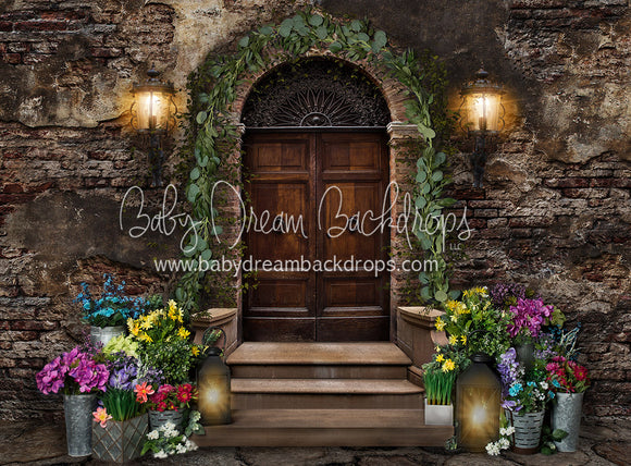 Fragrant Floral Entryway