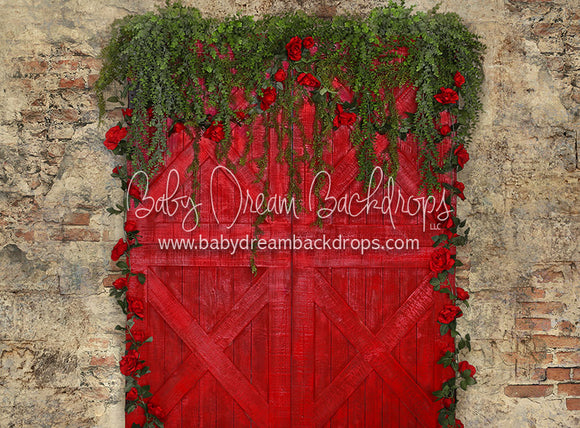 Garden Door Romance - 60Hx80W - CC (Matte Fleece)