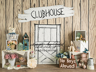 Girl's Clubhouse 60hx80w JG
