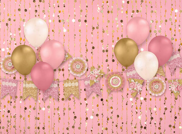 Girl's Weekend Balloons - 60x80 Long