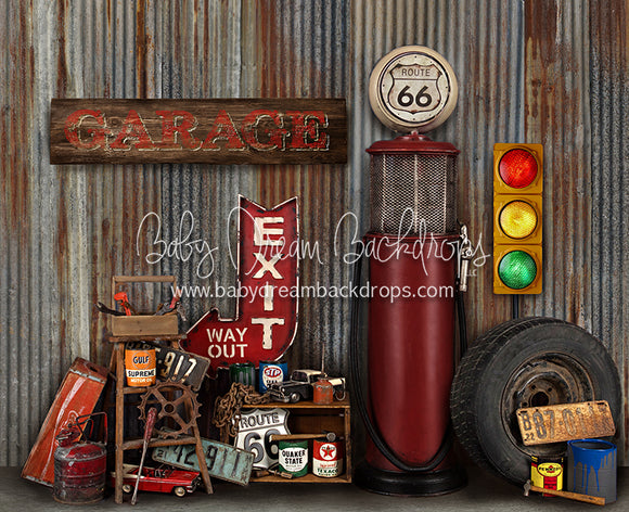 Gramps Garage (Extra Props)