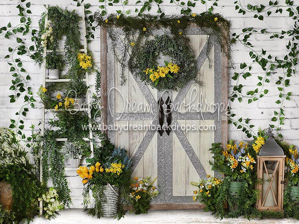 Happy Spring (White) - 6x8 - BD (Premium)