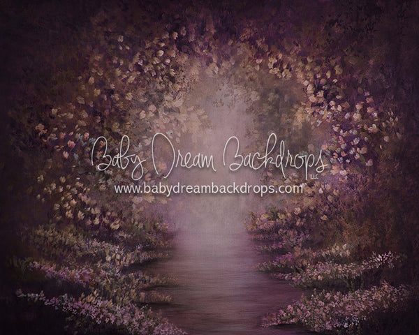 Heirloom Path of Enchantment Plum - 8x10 - SS