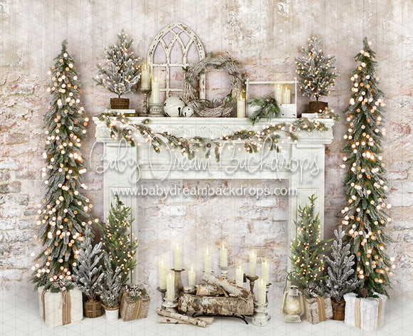Holiday Dreamer Mantel Lights